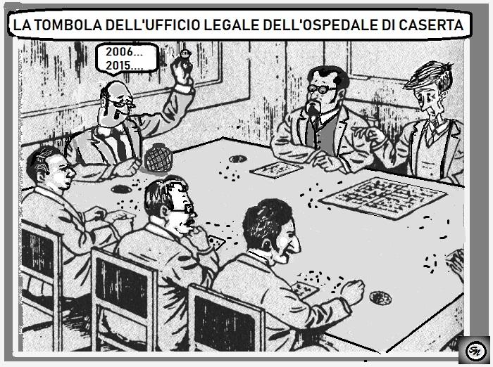 """ALLEGRA TOMBOLA DDELLAORN DI CASERTA OSPEDALE, DELIBERA 8…SIAMO SU """"SCHERZI A PARTE?"""""""