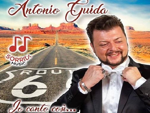 ANTONIO GUIDA 1 LA SORRIDI MUSIC LANCIA ANTONIO GUIDA CON LEP IO CANTO COSÌ