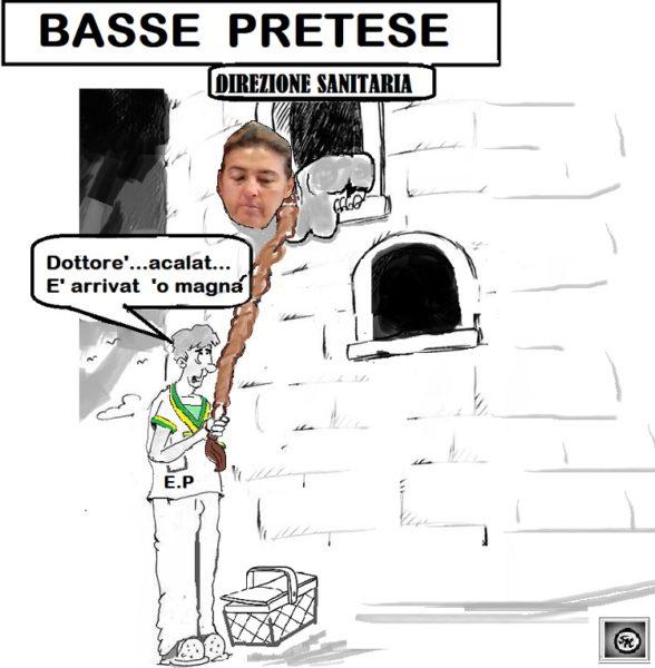 BASSE PRETESE OSPEDALE, LARGO!…IN ARRIVO ZUPPA DI COZZE PER LA DIRETTRICE!