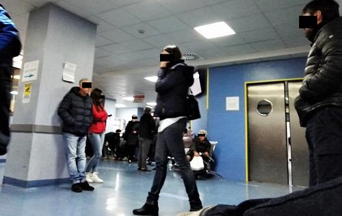 PS 1 OSPEDALE, LA RITUALE PARALISI DEL PRONTO SOCCORSO…ATTESE DI 24 ORE