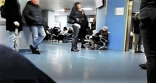 PS 2 OSPEDALE, LA RITUALE PARALISI DEL PRONTO SOCCORSO…ATTESE DI 24 ORE