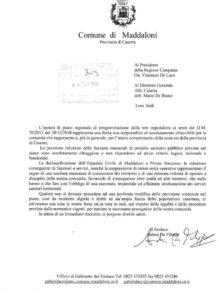 %name OSPEDALE MADDALONI, DE FILIPPO ANNUNCIA UNA BATTAGLIA SOCIALE PER TUTELARE IL DIRITTO ALLA SALUTE