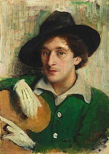 """Yury Pen   Portrait of Marc Chagall """"CHAGALL. SOGNO D'AMORE"""": A NAPOLI UNA GRANDE MOSTRA DEDICATA AL PITTORE RUSSO"""