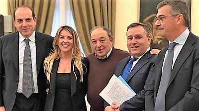 ZES 1 ZES, LASI CASERTA NELLA CABINA DI REGIA REGIONALE