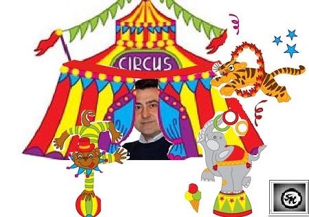 circo 1 LASSESSORE FRANCO DE MICHELE COME ANGELO LOMBARDI … LAMICO DEGLI ANIMALI