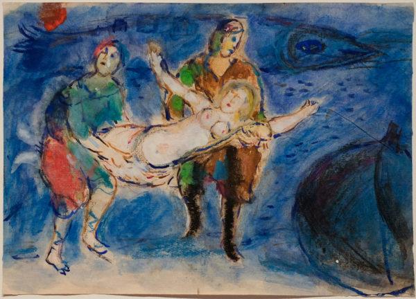 """marc chagall 600x432 """"CHAGALL. SOGNO D'AMORE"""": A NAPOLI UNA GRANDE MOSTRA DEDICATA AL PITTORE RUSSO"""