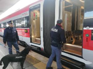 polizia ferroviaria 5 300x224 RAIL ACTION DAY: INTENSIFICATI CONTROLLI IN STAZIONI FERROVIARIE, TRENI E DEPOSITI BAGAGLI