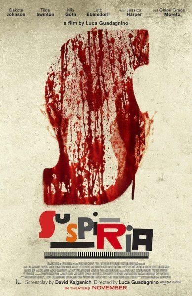 """suspiria maxw 644 """"SUSPIRIA"""": LUCA GUADAGNINO OMAGGIA O STRAVOLGE IL CLASSICO DI DARIO ARGENTO?"""