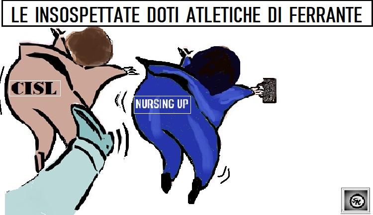 "FERRANTE SINDACATI 06.02.19 OSPEDALE, UN FERRANTE ""ATLETICO"" INCONTRA I SINDACATI"