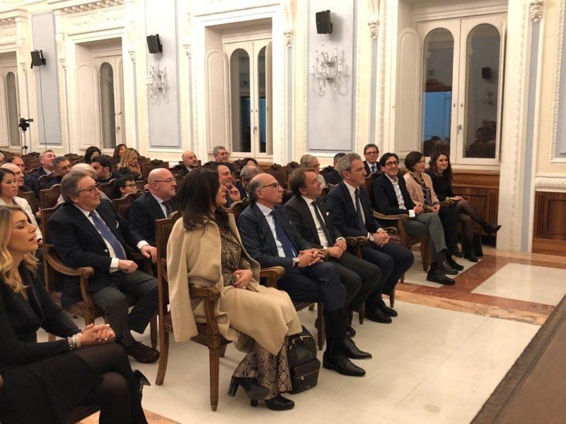 IMG 20190211 WA0004 1 TOMMASO DE SIMONE RICONFERMATO PRESIDENTE DELLA CAMERA DI COMMERCIO
