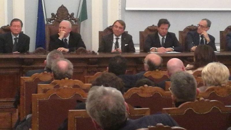 IMG 20190211 WA0007 TOMMASO DE SIMONE RICONFERMATO PRESIDENTE DELLA CAMERA DI COMMERCIO