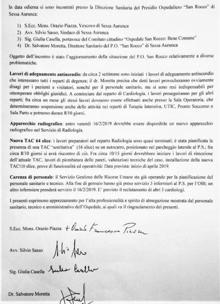 %name SAN ROCCO, IL COMITATO DIALOGA CON LE ISTITUZIONI