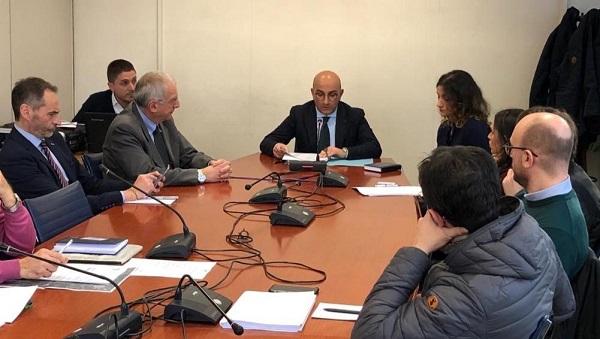 commissione 20 feb 19  SAN NICOLA LA STRADA, AUDIZIONE  IN COMMISSIONE AMBIENTE ALLA REGIONE