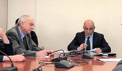 commissione 20 febb 19 SAN NICOLA LA STRADA, AUDIZIONE  IN COMMISSIONE AMBIENTE ALLA REGIONE