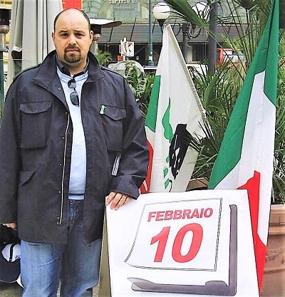 foto lopa napoli 10 febbraio A NAPOLI E IN CAMPANIA IL MNS CELEBRA LA GIORNATA DEL RICORDO