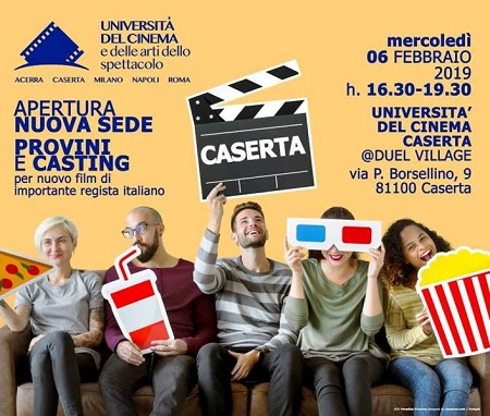 locandina evento DUEL VILLAGE NUOVA SEDE DELL'UNIVERSITÀ DEL CINEMA