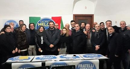 riunione fratelli ditalia SANTA MARIA A VICO, FRATELLI DITALIA: CONFERITE LE DELEGHE SI DA IL VIA AL TESSERAMENTO