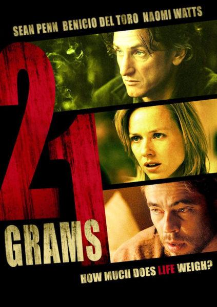 """21 grammi """"21 GRAMMI"""": IL RAPPORTO TRA IL DESTINO E IL LIBERO ARBITRIO"""