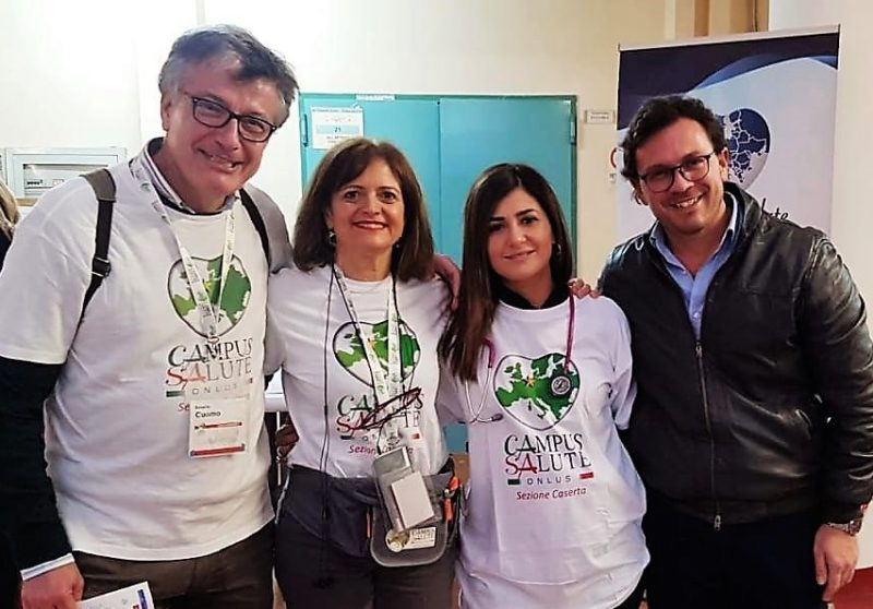IMG 20190309 WA0058 BUONARROTI DI CASERTA, PREVENZIONE E VOLONTARIATO: SUCCESSO DEL CAMPUS SALUTE INDOOR