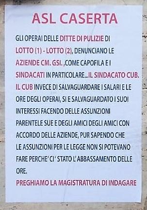 Immagine 2 FOTONOTIZIA   ASL, MANIFESTO DI PROTESTA