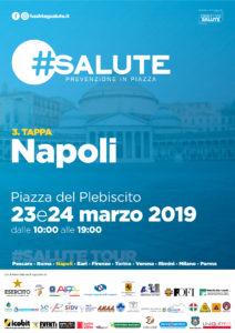Locandina Napoli 212x300 NAPOLI, TERZA TAPPA DEL TOUR DI PREVENZIONE SANITARIA