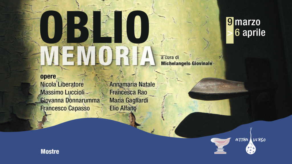 PalArti Oblio Memoria locandina web 1024x576 LOBLIO, NEL GRAN TEATRO DELLA MEMORIA AL PALARTI DI CAPODRISE
