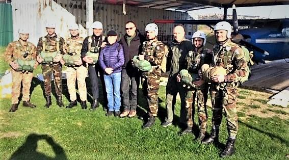 Paracadutisti 1°corso2019 ASSOCIAZIONE NAZIONALE PARACADUTISTI RINNOVA IL DIRETTIVO