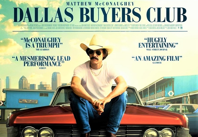 "Taxi Drivers Stasera in tv Dallas Buyers Club ""DALLARS BUYERS CLUB"": UNA PELLICOLA INTENSA E IMPEGNATA"