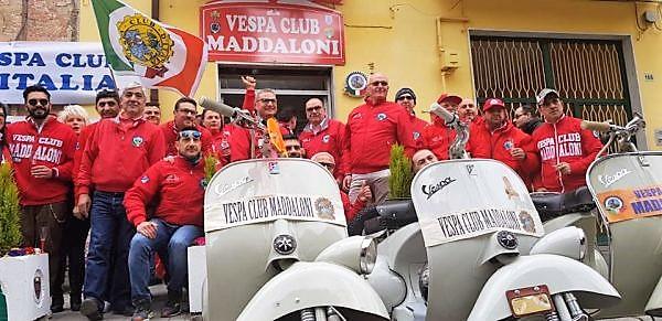 VESPA CLUB MADDALONI LA NUOVA SEDE DEL VESPA CLUB MADDALONI APRE I BATTENTI!