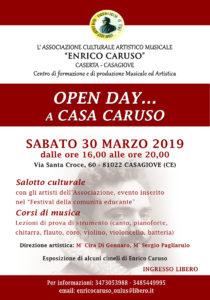 enrico caruso associazione 2019 210x300 OPEN DAY ALLASSOCIAZIONE ENRICO CARUSO