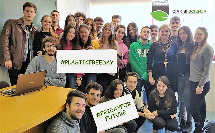 friday for future LANCIO DELL'INIZIATIVA PLASTIC FREE DAY