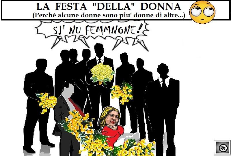 la festa della donna OSPEDALE, L'8 MARZO DEI MASCHIETTI…