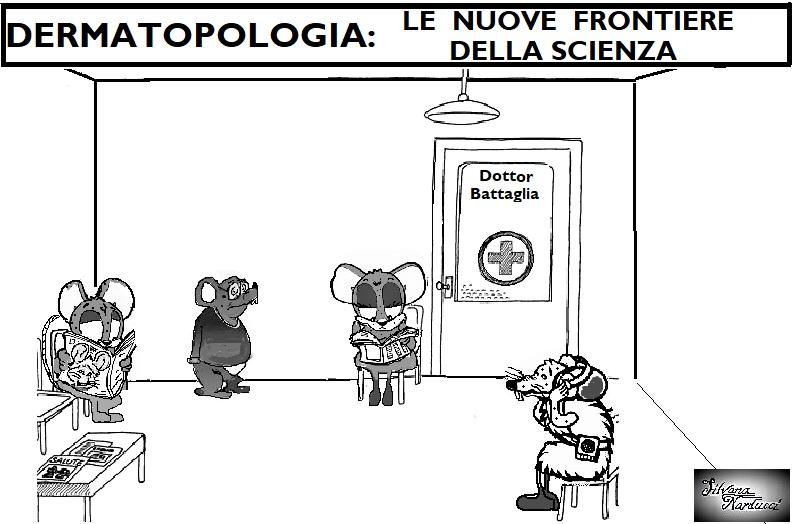 DERMATOPOLOGIA 25.04.19 OSPEDALE, I TOPI APRONO LE DANZE IN DERMATOLOGIA