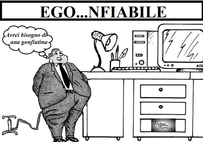 EGO...NFIABILE 12.04.19 OSPEDALE, CORAGGIO & SPOCCHIA A DISTANZA…DI SICUREZZA