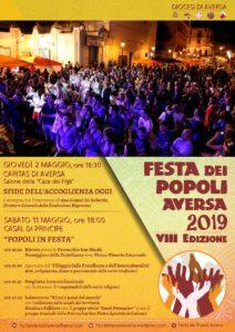FdP VIII Locandina bozza 1 212x300 FESTA DEI POPOLI AD AVERSA, IL PROGRAMMA