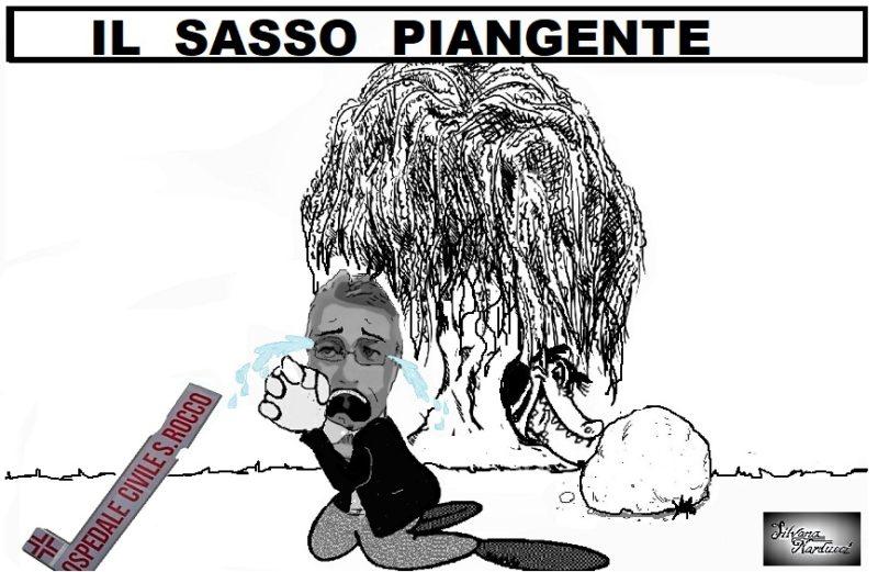 IL SASSO PIANGENTE 05.04.19 LE VICENDE DEL SAN ROCCO SPEZZANO IL CUORE DI … SASSO