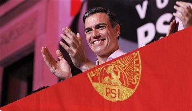 PSOE IL PSOE IN SPAGNA TRIONFA E IL PSI IN ITALIA?