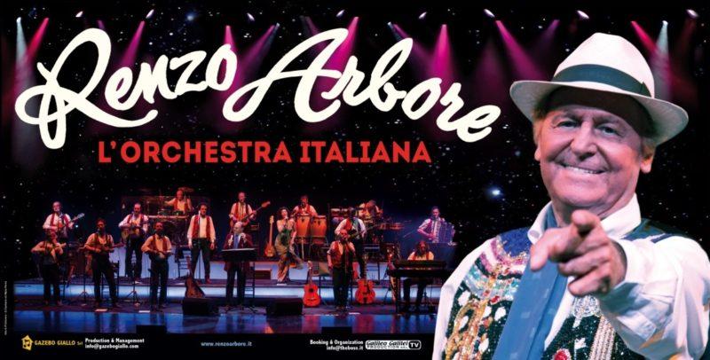 Renzo Arbore LOrchestra Italiana RENZO ARBORE & L'ORCHESTRA ITALIANA IN CONCERTO ALL'ARENA FLEGREA