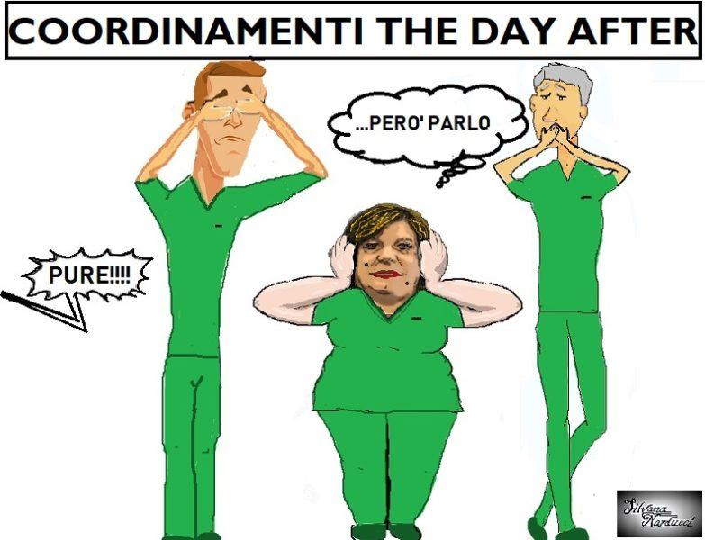 THE DAY AFTER OSPEDALE, COORDINAMENTI...IL FLOP DEL RINNOVAMENTO