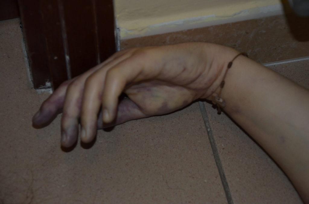 Un particolare della scena del crimine del delitto Tondi 1024x678 PROCESSO TONDI, OGGI NUOVA UDIENZA