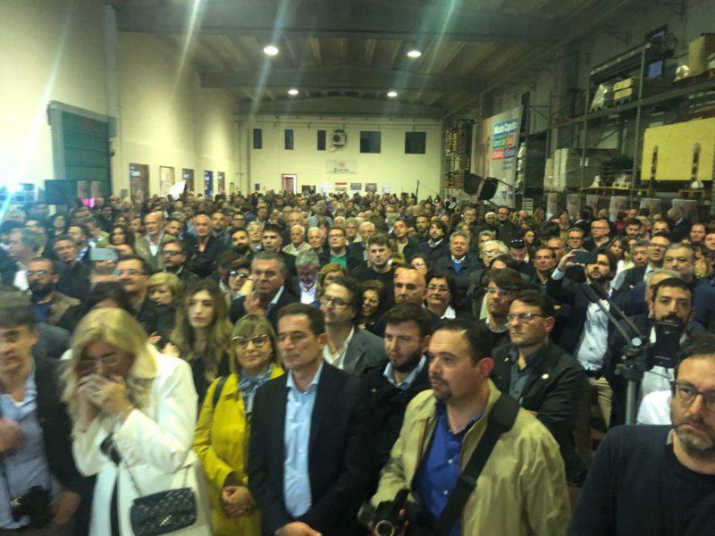 apertura campagna elettorale nicolacaputo europee2019 2 IN MIGLIAIA PER L'AVVIO DELLA CAMPAGNA ELETTORALE DELL'EURODEPUTATO NICOLA CAPUTO