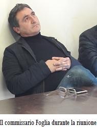 commissario Foglia CAB: IL COMMISSARIO FOGLIA INCONTRA DIPENDENTI E AGRICOLTORI SULL'ORLO DEL DISASTRO
