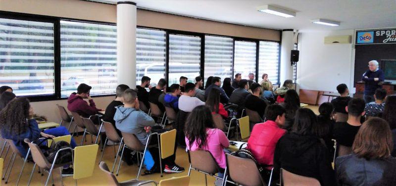 sala clinic paladecò AL PALADECÒ LO SPORT INCONTRA GLI STUDENTI DELLA FEDERICO II DI CAPUA