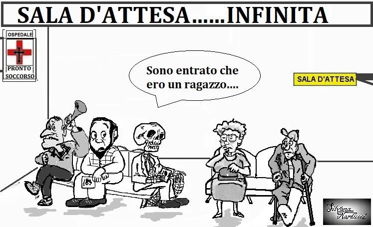 sale attesa 01.05.19 OSPEDALE, PRONTO SOCCORSO…SOSTA LUNGA & RIFLESSIONI