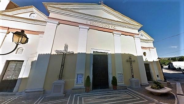 Chiesa di San Secondino BELLONA LADDIO AD ALESSANDRO DI NARDO: AVVOCATO, GIUDICE DI PACE E CALCIATORE