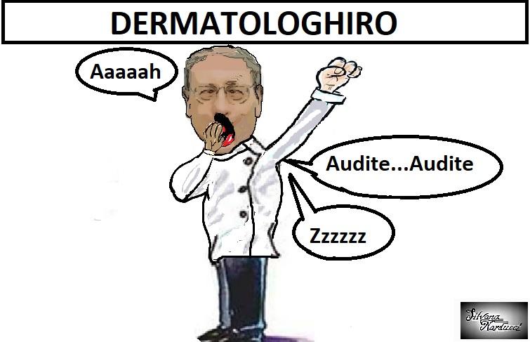 DERMATOLOGHIRO OSPEDALE, IL RISVEGLIO DELLUFFICIO STAMPA