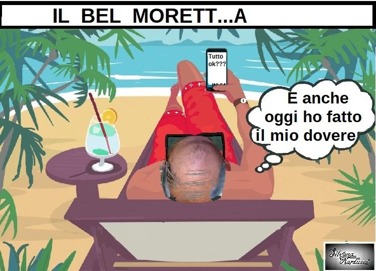 IL BEL MORETT...A OSPEDALE SAN ROCCO, MORETTA E GLI EDITTI A DISTANZA