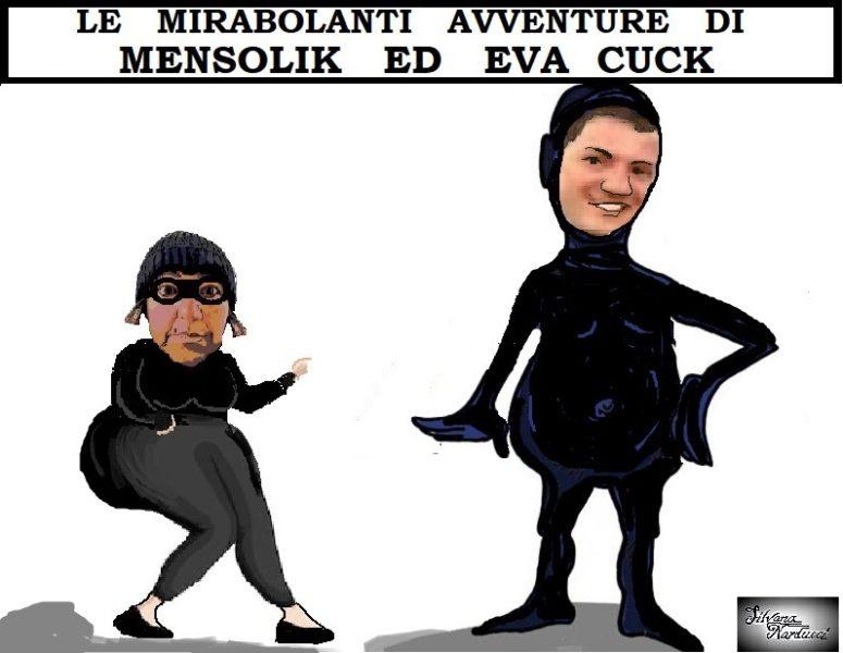 MENSOLIK e EVA CUCK 04.05.19 OSPEDALE, SALZANO PARLA E MASSA COMANDA…BENEDETTO DA SICILIANO