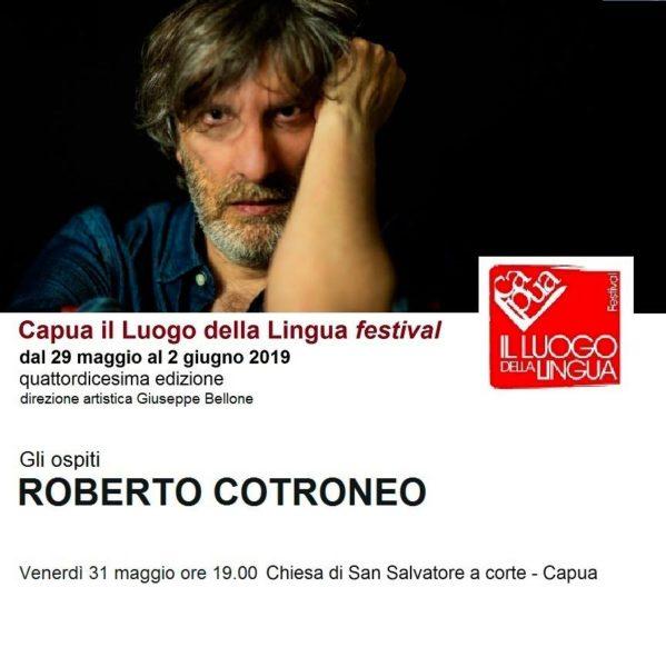 Roberto Cotroneo AL VIA CAPUA IL LUOGO DELLA LINGUA FESTIVAL: AL REGISTA SAVERIO COSTANZO IL PLACITO CAPUANO