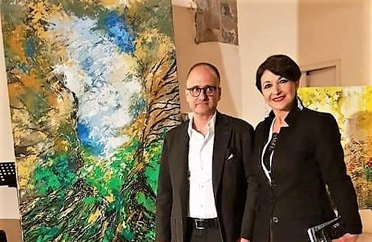 """Roberto Lasco e Pietra Barrasso ROMA, BARRASSO ART GALLERY ED IL CENTRO ALTI STUDI AVERROÈ PRESENTANO """"LA PAROLA INCONTRA LA LUCE"""""""